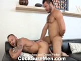 gay porn Jessy And Derek || Jessy Ares and Derek Parker Have Some Serious Chemistry! They Kiss Passionately and Jessy Can't Keep His Hands Away From Derek's Great Bubble Butt. Derek Gets on His Knees and Wraps His Lips Around Jessy's Thick Cock. Jessy Picks Derek Up From His Knees, Props Him on His Back, Then Licks and Fingers Jessy's Sweet Hole. Derek Parker Moans Louder With Every Lick From Jessy's Tongue. Derek Takes His Turn At Jessy's Ass, Eating and Fingering It as Jessy Jacks His Cock. Having Had Their Fill of Each Other's Asses, Jessy Ares Pushes Derek Unto the Couch on All Fours, Teasing Derek's Ass With His Massive Dick. Once Inside, Jessy Pumps His Throbbing Cock In and Out of Derek's Tight Hole. Derek Parker Sits on Jessy's Cock and Rides It Aggressively. Jessy Ares Continues Plowing Derek In the Missionary Position Until Derek Cums All Over His Hard and Hairy Abs. Jessy Cums All Over Derek's Beard and Mouth.