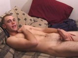 gay porn Boned Up - Nick - Scen || Already Turned on by the Video, Nick Gets Naked and Starts to Wank. He Eats His Pre-cum and After a Nice, Slow Workout Nick Squeezes Out a Creamy Nut.<br />