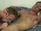 gay porn Cameron And Mark Final || He begins by licking Cameron's body from top to bottom as Cameron moans and jerks on his big fuck stick. If Mark was licking your body you'd be moaning in pleasure and happiness as well. Mark knows his way around a cock and shows off his cock sucking and jerking techniques as Cameron moans and groans.