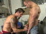 gay porn Show Me Your Talent - Part 2 || George and Marek met up to get some tires changed, but instead of a tire change. They decided to do a tune-up. On that ass that is. The mechanic shop had plenty of room for these boys to have fun. Fuck the tires. Let's fix that ass. Enjoy!