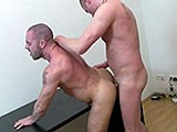 Spanish Bodybuilder Jorge Ballantino Get's Fucked Bareback by Some German Stud.