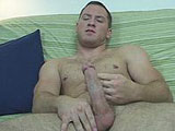 gay porn Caleb Solo - Part 2 || Keeping Caleb going, I had him take off his shorts, to show the pair of boxers that he had on underneath. Making him turn around I had him show his ass to the camera, because from what I could tell there was some bubble there. Pulling the waistband down in the back, his muscular ass looked to be very firm from all his working out. We went over the different exercises that he does to keep in shape, and then I explained what was going to happen next. Taking a seat on the couch Caleb started to play with his dick to get it hard, while I was busy getting the porn on for him to watch. Turning around I found that he was pulling and stroking his cock over his boxers. Then, after a bit he stood up and dropped the boxers to the floor. I do have to say that Caleb was very confident and that made him put on a good show for us. Lifting one leg up onto the couch it made for a great view of his balls and even a peak at his tight, virgin ass hole.