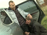 Gay Porn from outinpublic - Highway-Lovers-Fuck-Roadside-Part-1