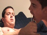 gay porn Kyle Tops Xander || Before I Could Say Action, These Two Horny Guys Locked Lips and Began Tearing At Each Other's Clothes. You Could Tell Immediately That Xander Was Ready to Ride Kyle's Cock.