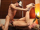 Hung and Ripped German Top Joe Bexter Fucks His Blond Boyfriend Tim Bareback With His Huge Cock.