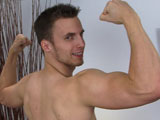 gay porn Personal Trainer Will || Will is a young man who is very laid back, he chats away, strips down to his boxers and before you know it he is stood naked, with his uncut cock waiting for his touch! A little bit of attention, he lies back on the bed and Wills cock goes from semi to hard as a rock in no time at all. He sits back and his cock slaps his abs, something about young athletic men and erections; they tend to be over hard and pulse to the beat of their hearts! Rob is well horny today, after a lot of teasing he lies back and his cock fires like a canon, he points it downwards and it fires a healthy load over his abs. A straight lad happy to unload for our pleasure and indicating he is ready for the next challenge!