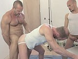 gay porn Manhandled And Bred || Watch This and Other Hot Scenes on Raw and Rough!