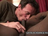 Cock Hungry Dilf Swallows Bbc ||