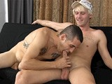 gay porn Abel And Angel || Abel Is Willing to Do All Sorts of Gay Acts for Cash, but Today Is the First Time He's Ever Agreed to Kiss Another Guy In More Than Just a Friendly Way. He and Angel Start With the Kiss, but Quickly Go Back to the Easier Stuff... Handjobs and Sucking Cock!