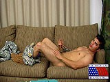 gay porn Sergeant Tony || Sergeant Tony Has Served Three Tours of Duty In Iraq. He Was In Charge of Several Warriors on the Battlefield In the Infantry. He's Proud of His Military Service and Is Wearing His Uniform Proudly Today. His Thick Black Hair Stands At Attention on Top of His Head While His Full Red Lips Tell Stories of His Military Conquests. He Pulls the Camouflage Pants Down to His Ankles to Get Full Access to His Firm Cock and Aching Balls.