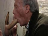 Gay Porn from DaddyStrokes - Daddy-At-The-Gloryhole