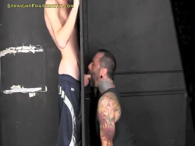 Rob At The Gloryhole - GloryHole