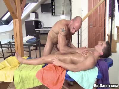 Massage My Ass With Oi - Gay Porn Star