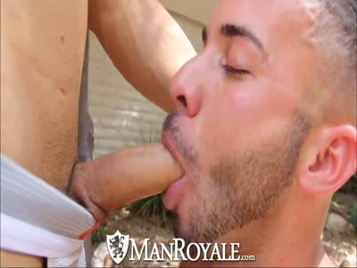 Manroyale Muscled Lati - Gay BodyBuilder