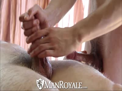 Manroyale Massaged And - Hardcore Gay Sex