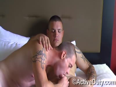 Bruce And Nick - Gay Military Sex