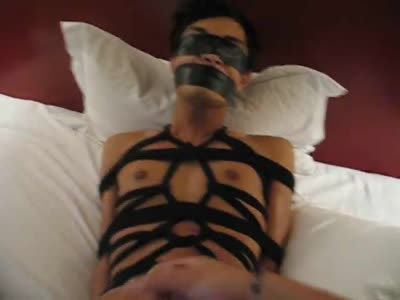 Tied Up And Cum