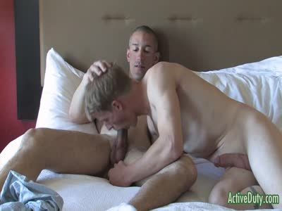 Drew And Wes - Gay Military Sex