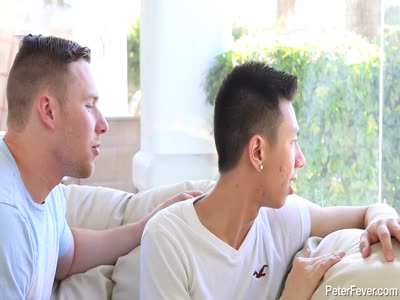 Spying On The Neig - Asian Gay Sex