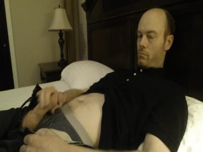 Jerking Off In Bed - Gay Jerkoff