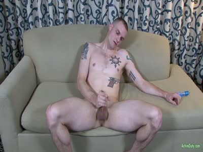 Colton Phobos - Gay Military Sex