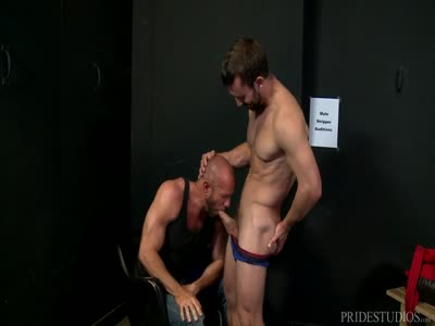 Striptease Auditio - Older Gay Men