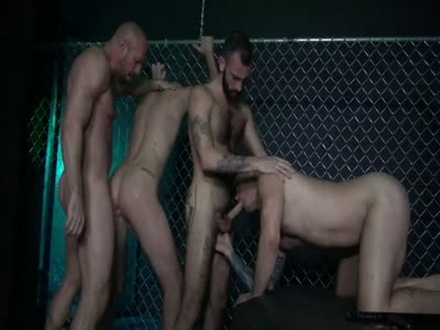 Gay prison bareback