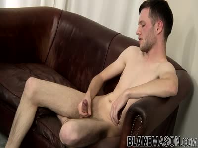 Lucas Kain Enjoys  - Gay Jerkoff