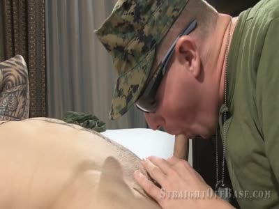 Kodie And Landon Suck  - Gay Military Sex