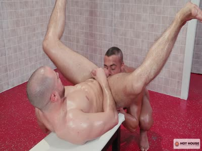 Bathhouse Ballers - Interracial Gay Sex