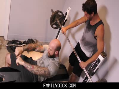 Father Son Workout - Gay Porn