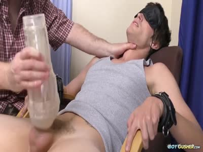 Jaden Bound And Teased - Gay Hunk