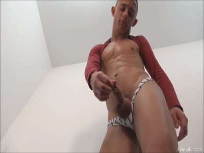 Chav Playing With  - Gay Jerkoff