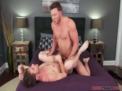 Aron Pounding Char - Gay For Pay Straight Males