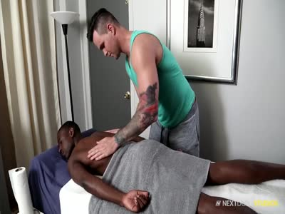 Deep Body Work - Interracial Gay Sex