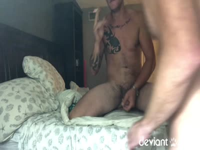 Smoking And Stroki - Gay Hunk