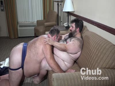 Daddy Business Trip - Gay Bear Sex