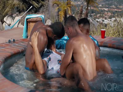 Hot Tub Fourgy - Gay Orgy
