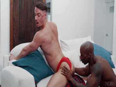 The Hitchhiker - Interracial Gay Sex