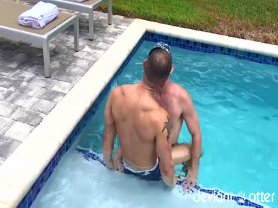 Slippery When Wet - Gay Hunk