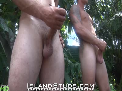 Hung Brett And Cal - Gay Hunk