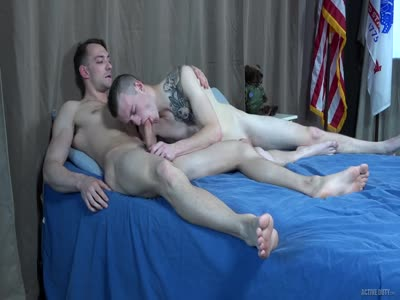Johnny B And Scott - Gay Military Sex