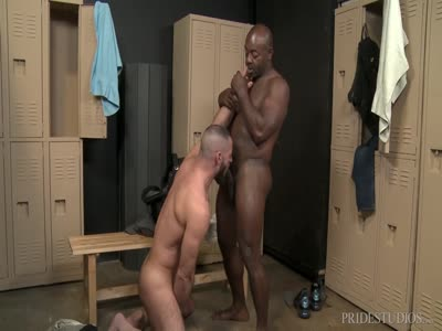 My Trainers Big Cock - Interracial Gay Sex
