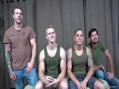 All The Boys Flip Flop - Gay Military Sex