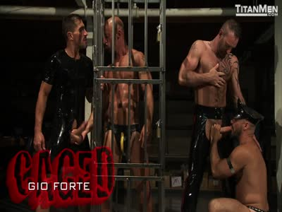 Caged - Gay Orgy
