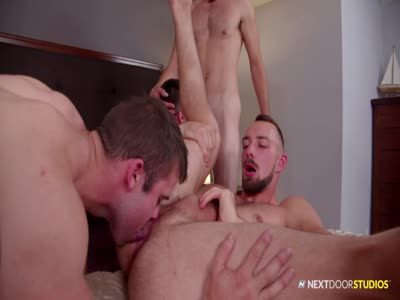 Soaking Wet - Gay Orgy