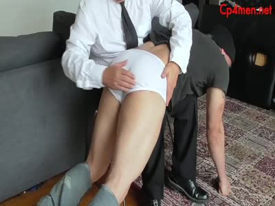 Spanked Burglar! - Gay Fetish