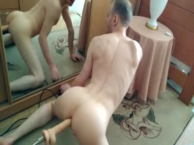 Fucked By Sex Machine - Amateur Gay Sex