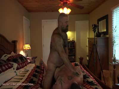 Face Full Of Dicks - Gay Bear Sex