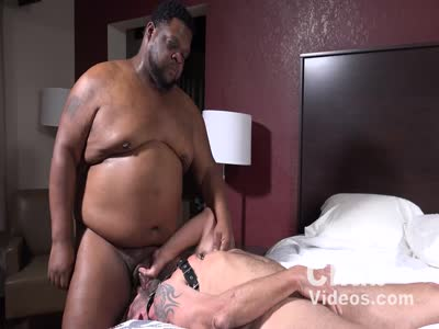 Big Thick And Pierced - Interracial Gay Sex